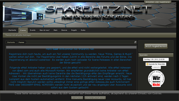 screenshot sharehitz.net