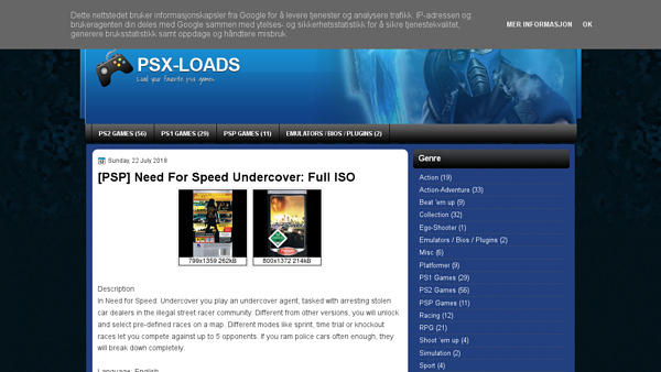 screenshot psx-loads.blogspot.com
